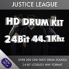 Justice League HD Drum Kit Samples 24bit 44.1khz