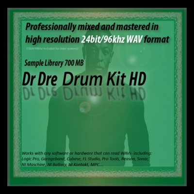Product picture Dr Dre Drum Kit Samples 24bit Sounds