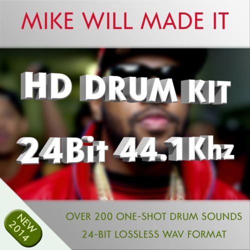 Product picture Mike Will Made It HD Drum Kit Samples 24bit 44.1khz