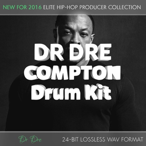 Product picture Dr Dre Compton Producer Drum Kit - 24Bit Samples