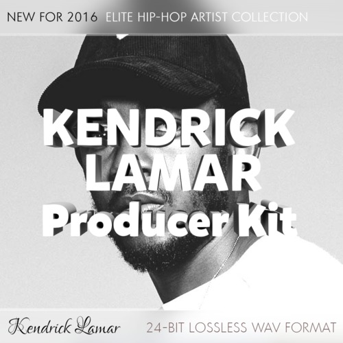 Product picture Kendrick Lamar Producer Kit - Elite Hip-Hop Artist Sounds