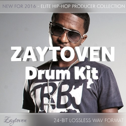 Product picture Zaytoven Drum Kit - Epic Sound Library - 745 Drum Sounds